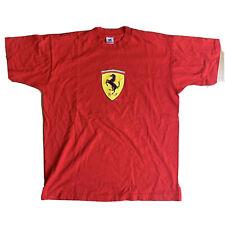 Ferrari T-Shirt Mens XL Red 1995 S/S VTG