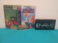 The Lion King / Le roi lion VHS tape & clamshell case FRENCH 2/2