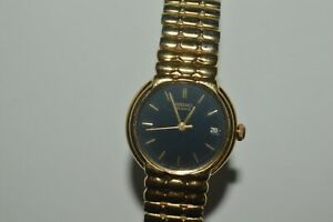 SEIKO Watch 7N82-0038 Date Function Quartz 23mm Originals Black Dial Vintage