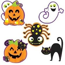 Halloween Cute Cut Outs Decorations 10cm Pack of 10