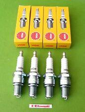 4 spark plugs NGK B8ES Kawasaki z1 kz1000 kz750 kz900 kz1100 zx1100 gpz kz 1000