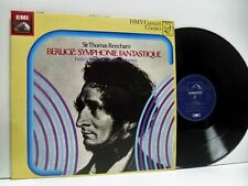 SIR THOMAS BEECHAM berlioz symphonie fantastique LP EX+/EX, SXLP 30295, vinyl,