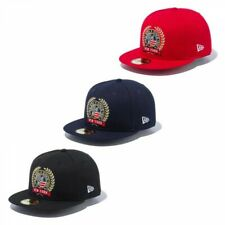 NEW ERA 59FIFTY Fitted Cap Logo Embroidery Emblem 3 Colors Fast Shipping Japan