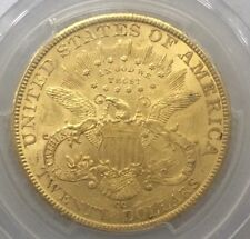 RARE 1884 CC GOLD BU Liberty Eagle $20 PCGS UNC Carson City GOLD $22000 In MS62