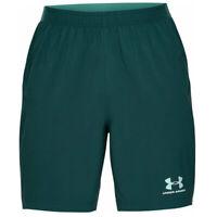 Under Armour UA Mens HeatGear Accelerate Pro Mens Green Sports Training Shorts L