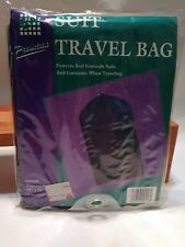 Vintage 1995 E-Z Do Blue Suit Travel Bag Clothing Protection New Nos