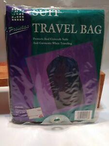 Vintage 1995 E-Z Do Blue Suit Travel Bag Clothing Protection New Nos