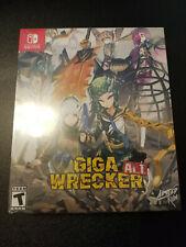 Nintendo Switch Giga Wrecker Alt Colletors Edition Limited Run Games #33 Sealed