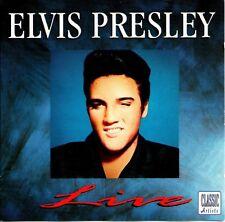 Elvis Presley-Live CD