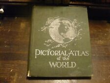 RAND MC NALLY 1898 PICTORIAL ATLAS OF THE WORLD
