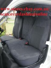 GREY SEAT COVER FIT TOYOTA HIACE 2005 - 2015 LOW ROOF LWB