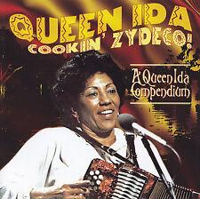 QUEEN IDA - CD - QUEEN IDA COOKIN' ZYDECO ! - A QUEEN IDA COMPENDIUM