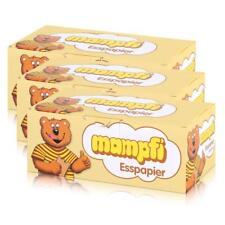 Mampfi Esspapier Oblaten 200 Stück - unverwechselbarer Geschmack (3er Pack)
