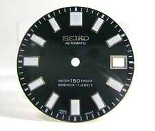 NEW AFTERMARKET REPLACEMENT DIAL FOR 6217-8000 62MAS AUTOMATC DIVER WHITE INDEX!
