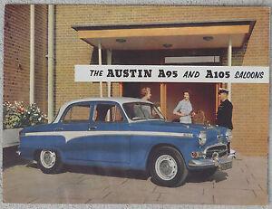 Austin A95 & A105 brochure