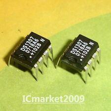 100 PCS DS1307N DIP-8 DS1307 1307 64 x 8, Serial, I2C Real-Time Clock
