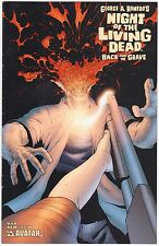 Night of the living dead/back from the grave/George A Romero/ltd to 1000/comics