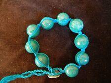 CHAN LUU Large Faceted Stone Shambala Bracelets NWOT
