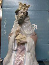 LLADRO #5480 KING GASPAR NATIVITY BRAND NIB CHRISTMAS RELIGIOUS FREE SHIPPING