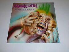 """MARILLION - He Knows You Know - 1983 UK 7"""" single"""