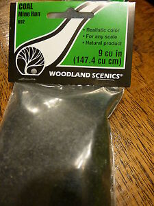 Woodland Scenics #785-92 Mine Run Coal