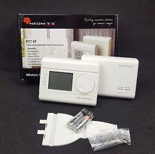 Neomitis RT7 RF 7 Day Wireless Programmable Digital Room Thermostat