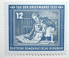 Germany East Stamp 91 MNH Full Set Stamp Day Topical Cat $5.00