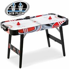 MD Sports Easy Assembly 48 Inch Air Powered Hockey Table Space-Saving Design ...