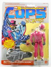 Cops 'N Crooks Buttons McBoom Boom Hasbro Action Figure