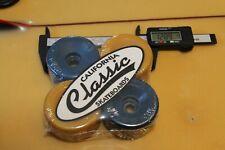 Blank Multi-Color Dogtown Sims 70's 80's 64mm W1 Vintage Set 4 Skateboard Wheels