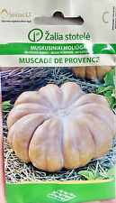 PUMPKIN SEEDS MUSCADE DE PROVENCE MEDIUM LATE LARGE FRUIT DELICIOUS TASTY BIG