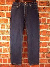 LEVI'S REGULAR FIT 505 JEANS  SIZE 36/34 DARK BLUE NWOT!!