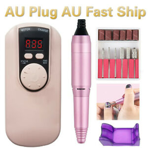 35000RPM Rechargeable Portable Electric Nail Drill File Manicure Machine Strong