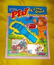 PIU' E IL SUO GIOCO N.20 SETTIMANALE EDITORIALE DOMUS '80