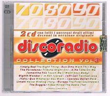 DISCORADIO DISCO RADIO VOL 3 - 2 CD F.C. COME NUOVO!!!