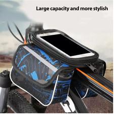 """Borsa Bici Borsello Telaio Bicicletta Porta Oggetti Cellulare Smartphone 6,7"""""""