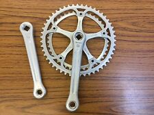 Vintage Spidel Stronglight 106 Chainwheel Crankset 50/42 t Ring 170mm Fluted Arm