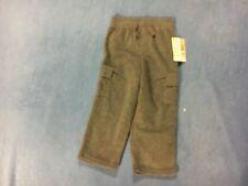 Garanimals Boy's NWT Gray Fleece Cargo Pants. Size 3T   FREE SHIPPING