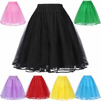 Clearance! Retro Underskirt 50s 60s Swing Vintage Petticoat Tutu Fancy Net Skirt