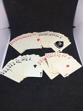 Vintage Card Deck Cadaco Tripoley Plastic Coated 52 Playing Cards. Dma12