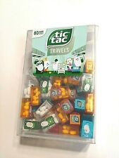 Huge Tic Tac Travels 60 Mini Tacs Boxes Giant Each 3.9g 4 Flavors Travel Poses