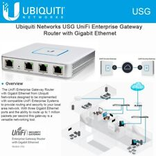 Ubiquiti USG UniFi Security Gateway Enterprise Router 3 Gigabit ports VPN Server