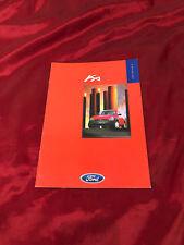 Car Brochure: Ford Ka - 1997 Includes Ka, Ka2 and Ka3