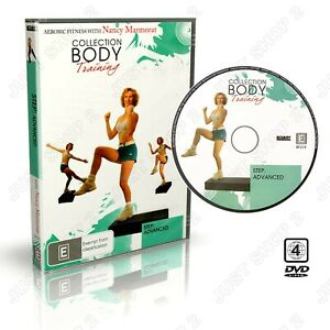 Step Aerobics Exercise DVD : Advanced Workout : Brand New