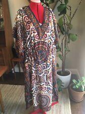 Womens CAFTAN Dress Coverup Made In india Hippy Boho BELLA MODA