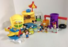 Disney Mickey Mouse Clubhouse Playset Figures Lot Airplane