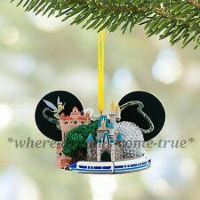 Disney Parks Walt Disney World Ear Hat Ornament with Tinker Bell BNWT