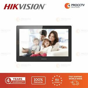 Hikvision Video Intercom Indoor Station DS-KH8520-WTE1, Wi-Fi,10-inch Touch