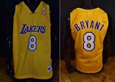 Champion Los Angeles LAKERS Kobe BRYANT #8 Jersey NBA Shirt SIZE XL men's