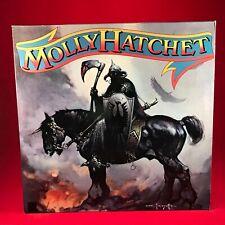 MOLLY HATCHET Molly Hatchet 1990 Spain PROMO vinyl LP EXCELLENT first same debut